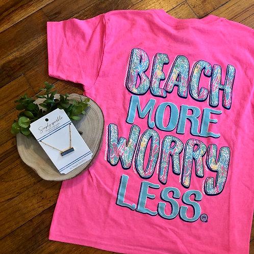beach more tee