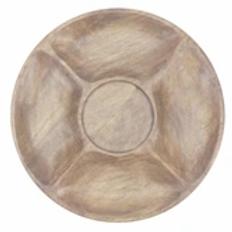 Chip & Dip Wood Platter