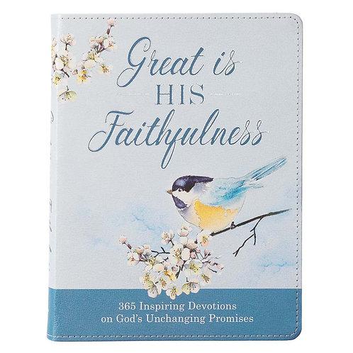 His Faithfulness Devotional
