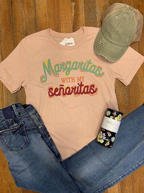Margaritas & Senoritas Tee