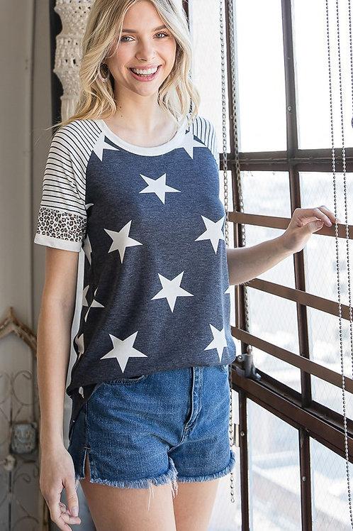 Navy Stars & Stripes