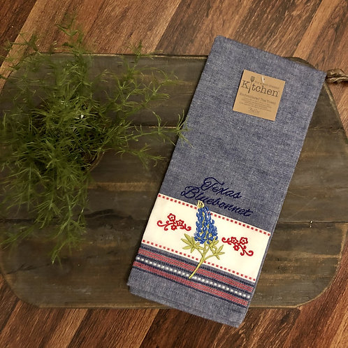 Texas Bluebonnet Towel