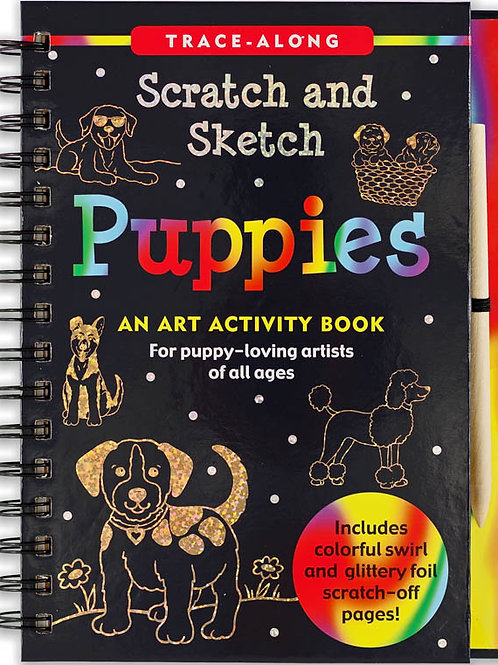 Scratch and Sketch Puppies Book