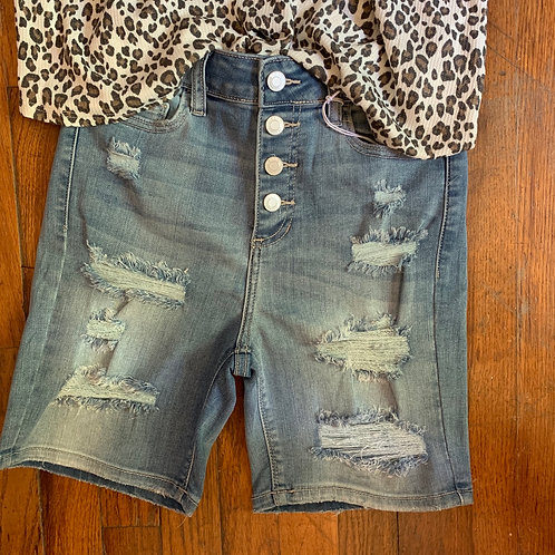 4 Button Fly Shorts