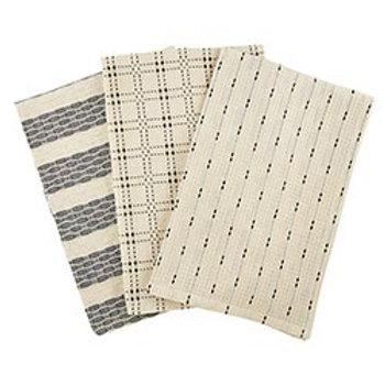 Black & Beige Towels