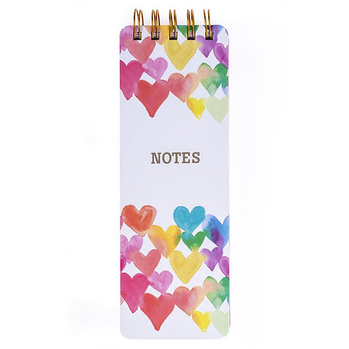 Heart Notes Reported Pad