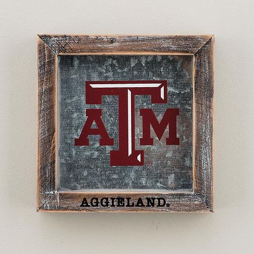 Texas A&M Table Sign