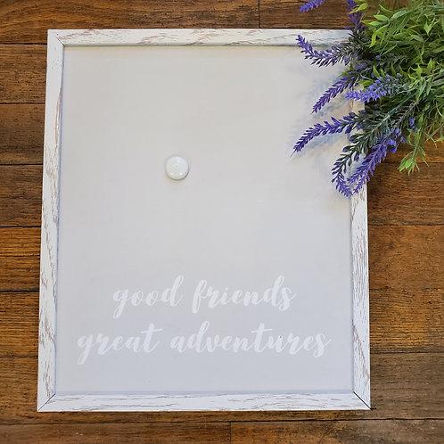 Good Friends Magnet Board