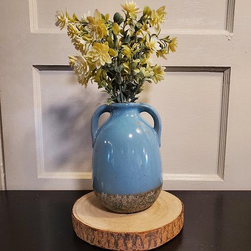 Aqua Bottle Vase