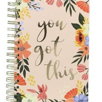 You Got This Spiral Journal