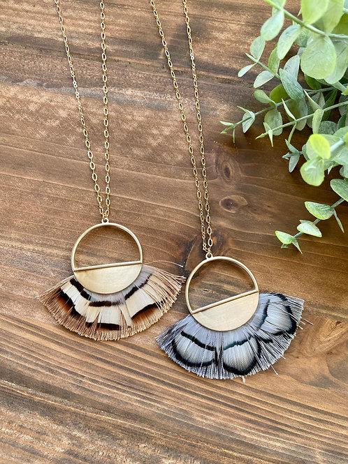 Wing Tassel Necklace