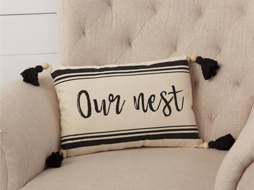 Pillow for Our Nest