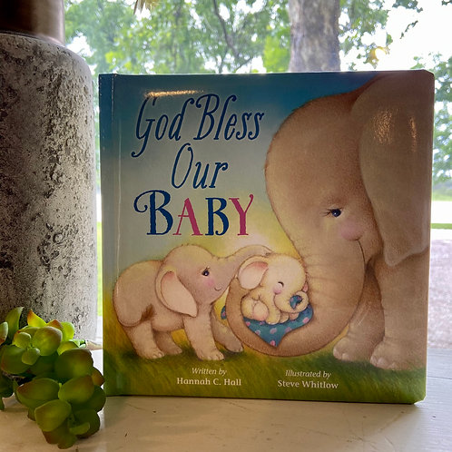 God Bless Our Baby Book