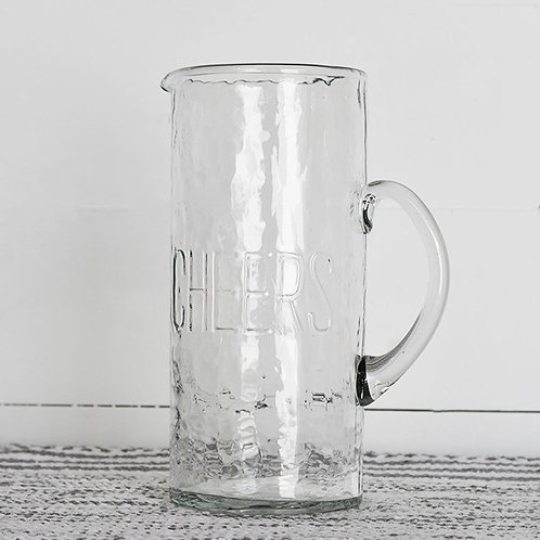 Cheers Glass Pitcher
