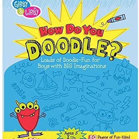 Boy Doodle Book