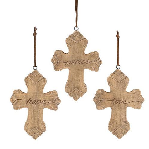 Natural Wood Cross