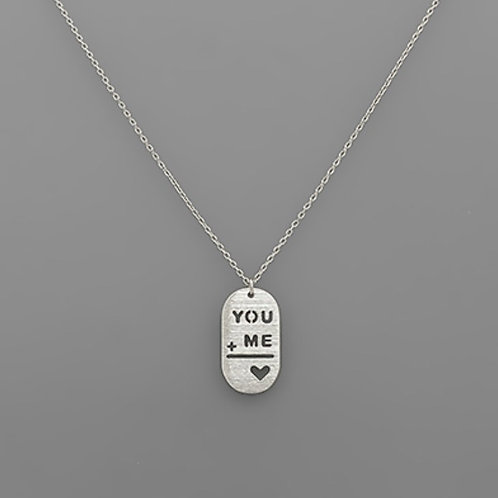 You + Me Necklace