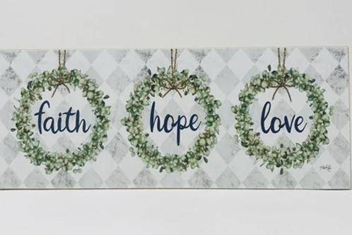 Faith~Hope~Love Block