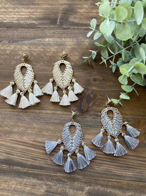 Thread & Tassel Earrings