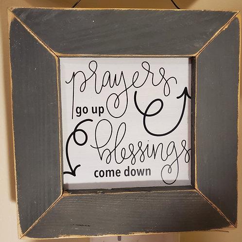 Prayers & Blessings Sign