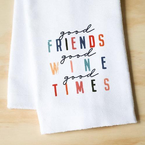 Good Friends Towel