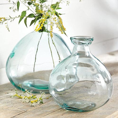 Bubble Shape Glass Vase