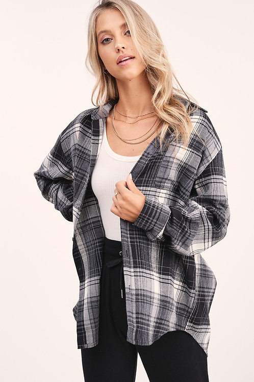 Smokin' Plaid Flannel Shirt