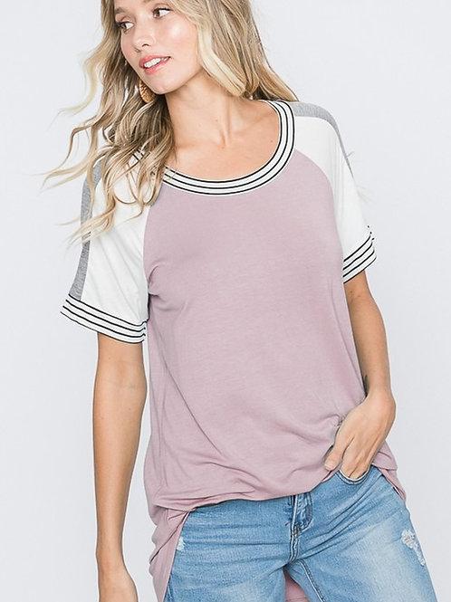 Pink N' Stripe Top