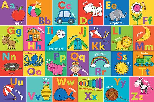 Alphabet Puzzle 24 pc