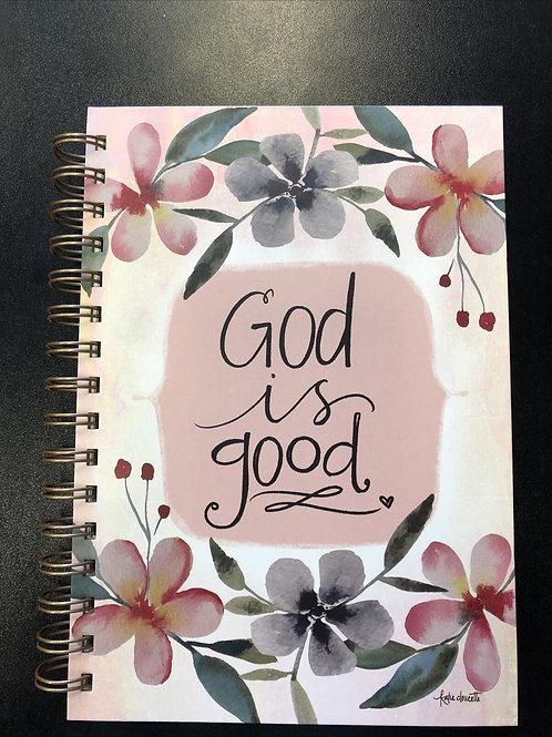 God is Good Wirebound Journal