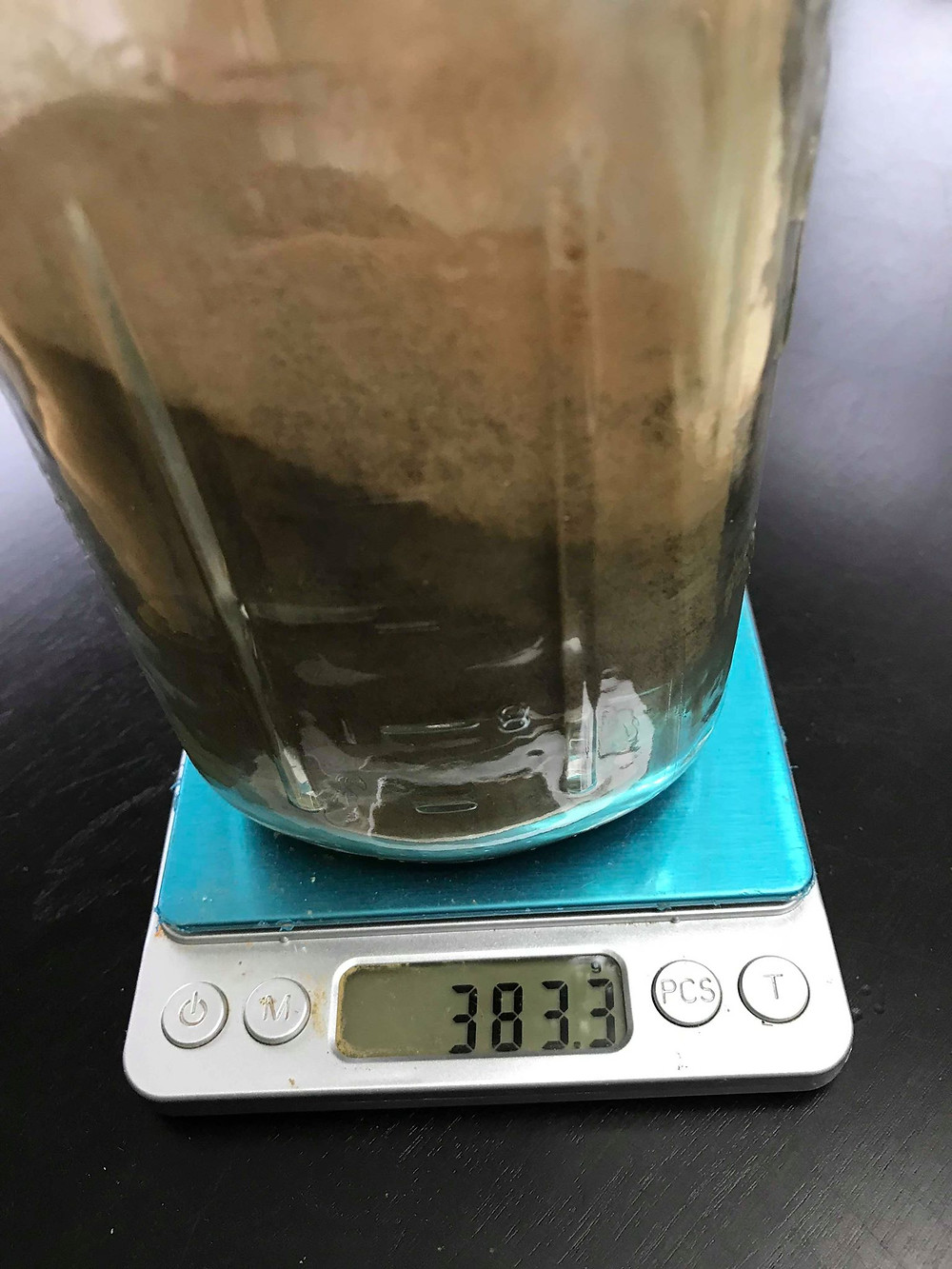 Grind the extract into powder, and your project is complete.