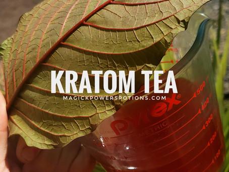 How to Brew Fresh Leaf Kratom Tea