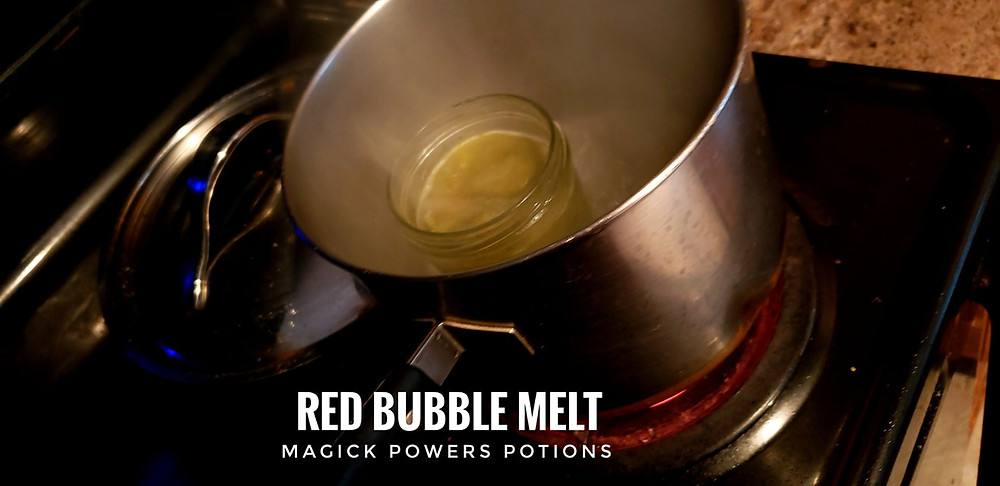 Red bubble can be heated on the stove top or allowed to unthaw at room temperature. DO NOT BOIL or some alkaloids will be lost.