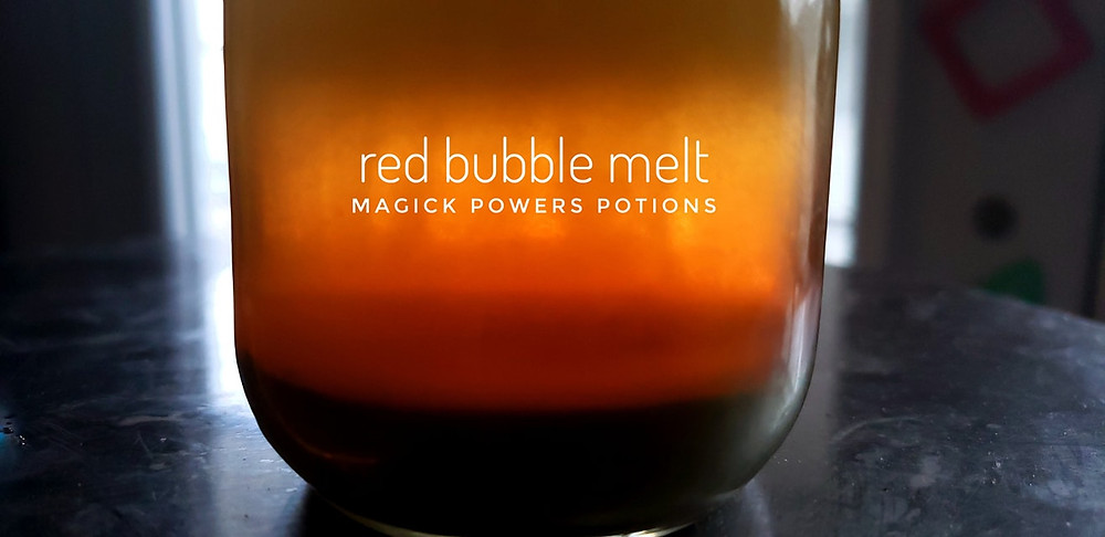 the beautiful hues of red bubble