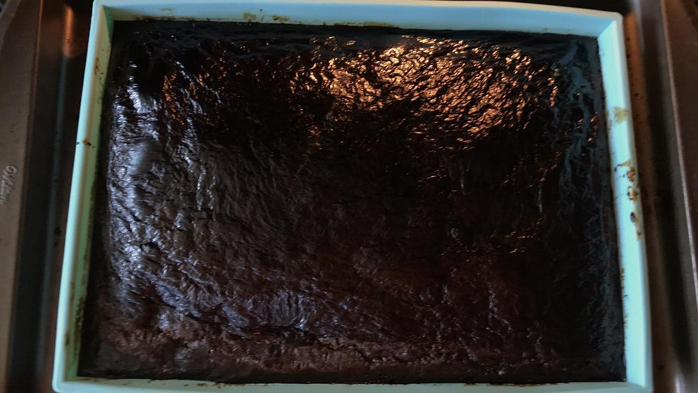 The extract is now fully reduced in the oven.