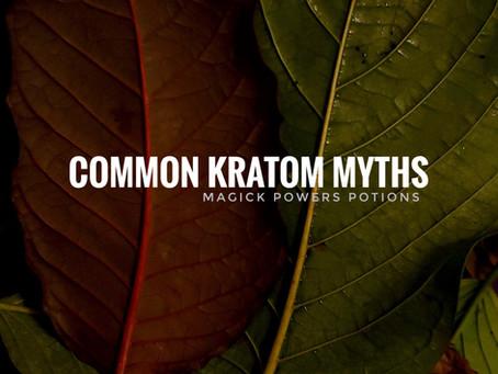 Common Kratom Myths