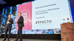 Effecto, stolzer Presenting Partner RETAIL AWARD 2018.