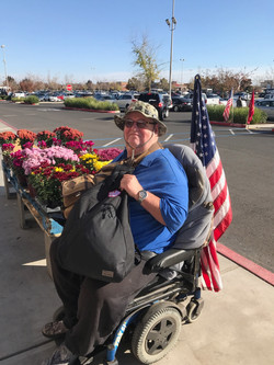 Veteran awarded BFL Backpack (Nov. 2017)