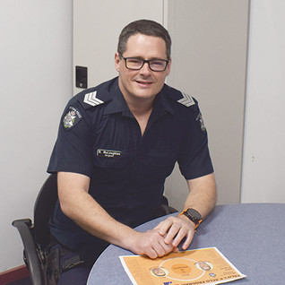 Sergeant Brett McLoughlan Robinvale Police Aboriginal Liaison Officer (PALO)