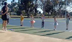 Robinvale Ballet Guild Hits the Courts