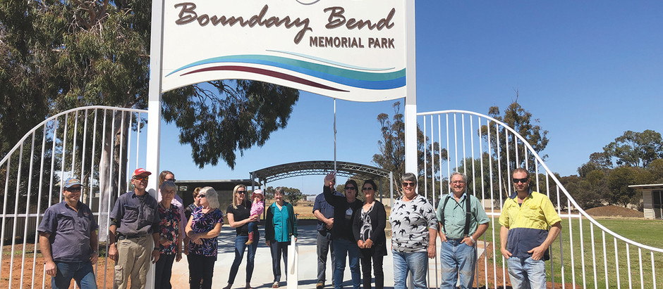 Boundary Bend is in for a rockin' good time!