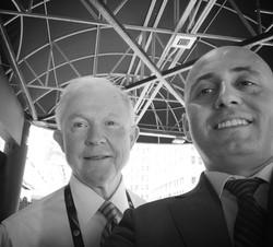 Bilal Eksili with AG Jeff Sessions