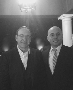 Bilal Eksili with Actor Kevin Spacey