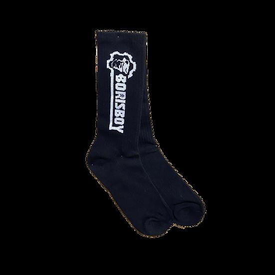 Borisboy Gym Socks  - Black
