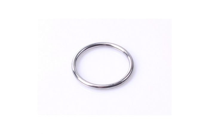 Metal Cockring with Seam