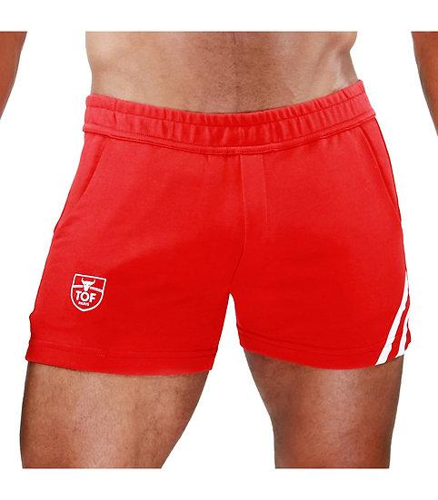 Paris Shorts Red/White