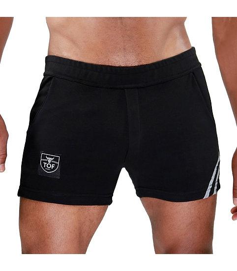 Paris Shorts Black/Grey