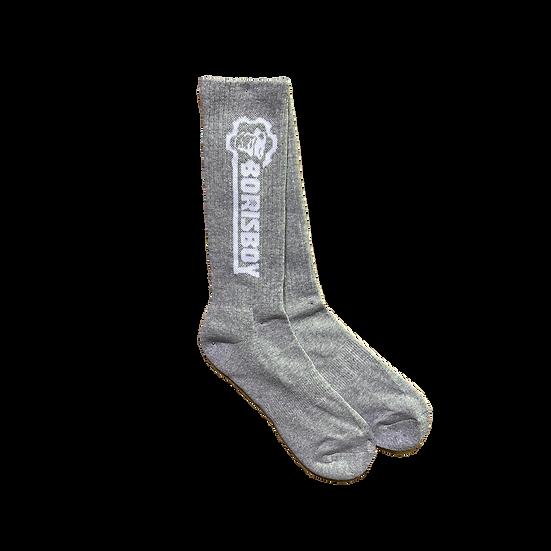 Borisboy Gym Socks  - Grey