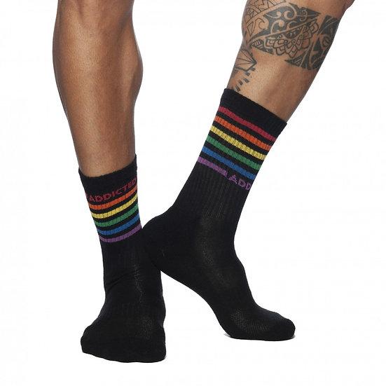 Addicted - Rainbow Socks ADF108