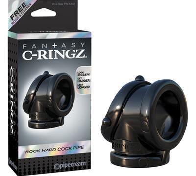 Fan+asy C-ringz Rock Hard Cock Pipe